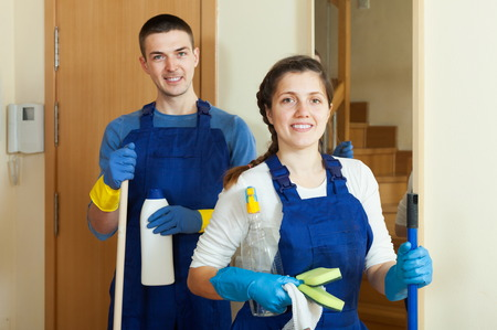 Professional Cleaning Staff